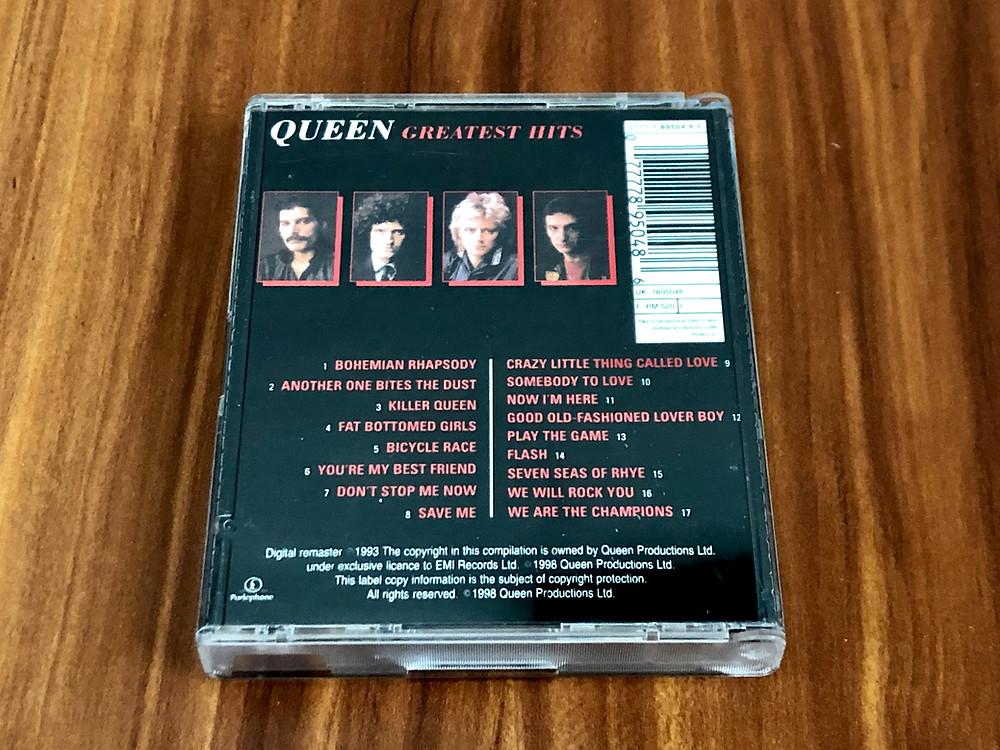 Queen Greatest Hits MiniDisc Album