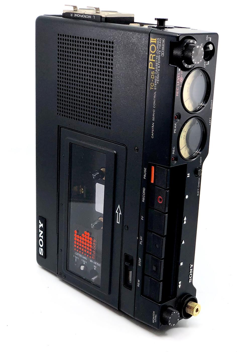 Sony TC-D5 Pro II Professional Portable Cassette Recorder