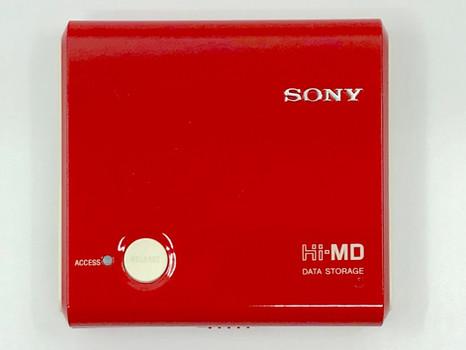 Sony DS-HMD1 Hi-MD USB Data Storage Red