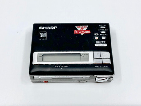 Sharp MD-MS100 Black MD Recorder