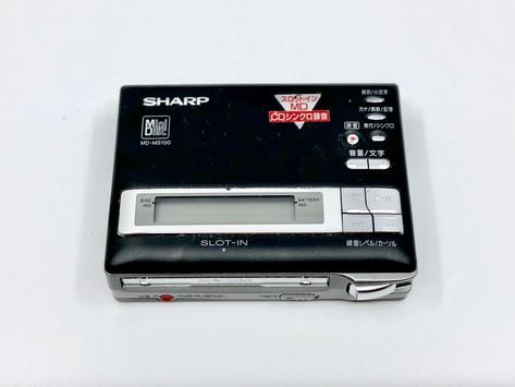 Sharp MD-MS100 Black MD Recorder