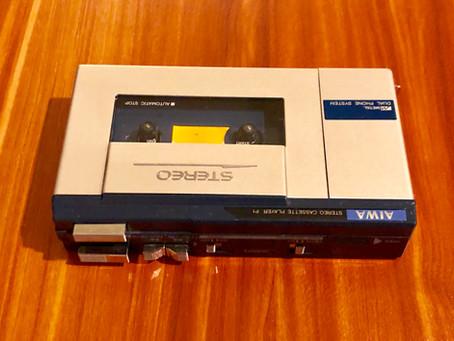 Aiwa HS-P1 Portable Cassette Player