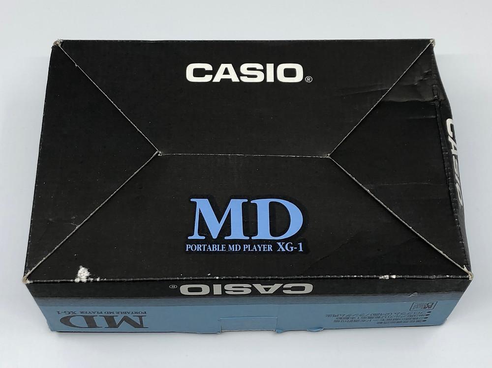 Casio XG-1 MiniDisc Player