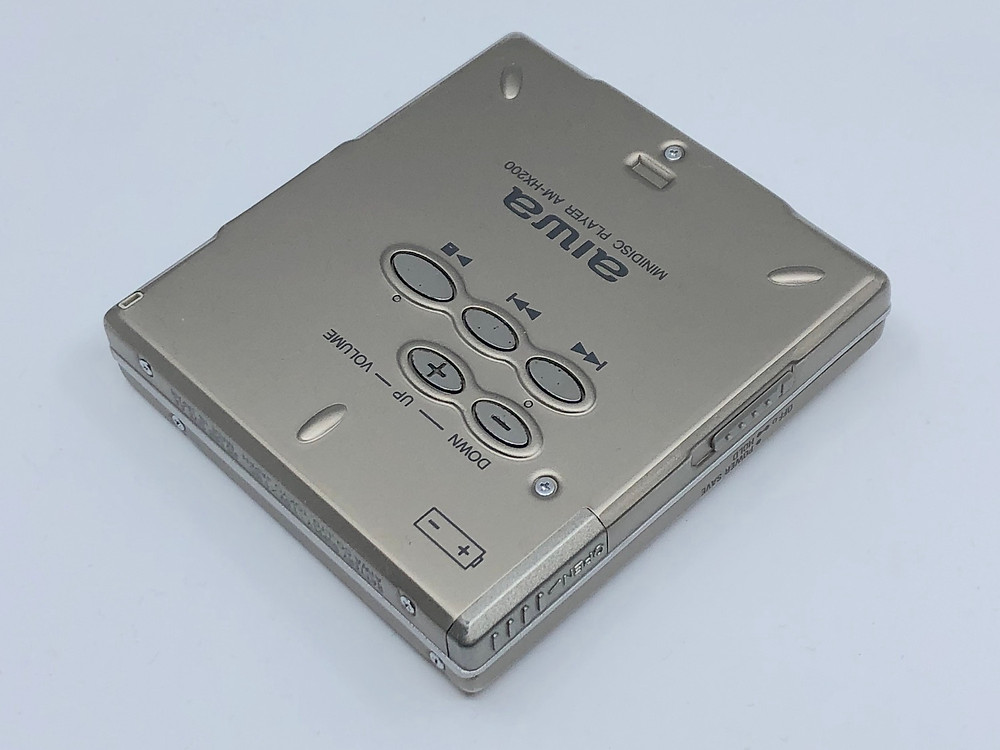 Aiwa AM-HX200 Titanium MiniDisc Player