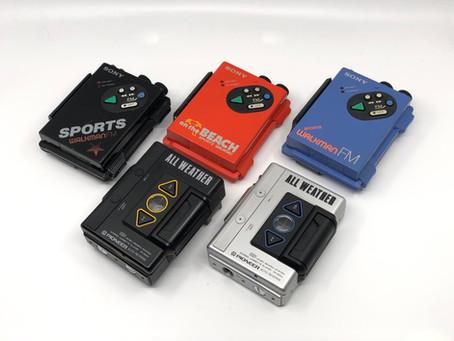 Sony Pioneer Weatherproof Portable Cassette Players