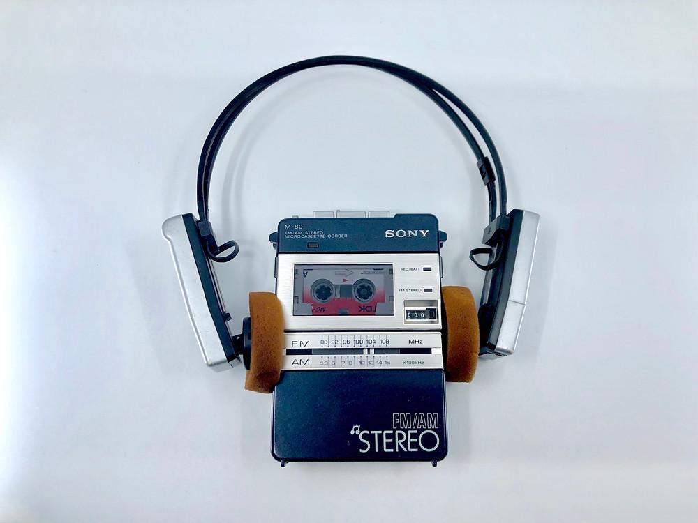Sony MDR-R9 Radio Headset