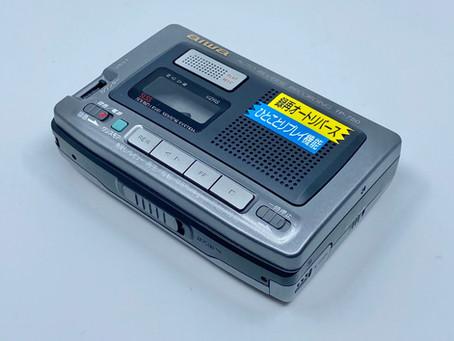 Aiw TP-750 Portable Cassette Recorder