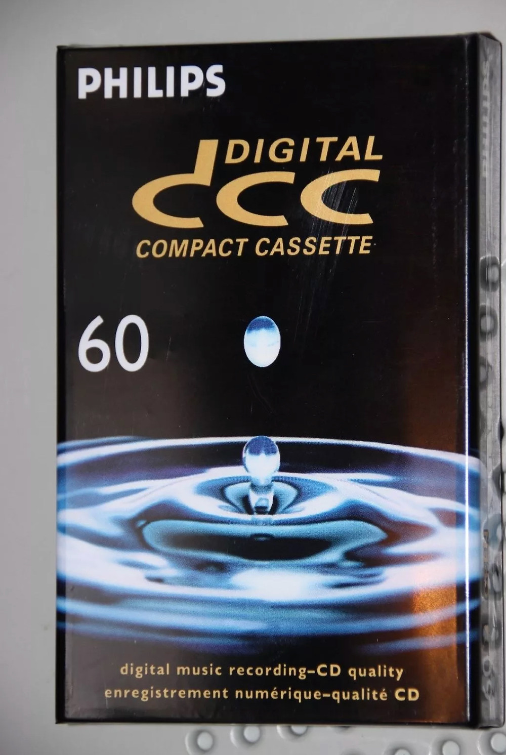 Philips 60 Minutes DCC Blank Cassette