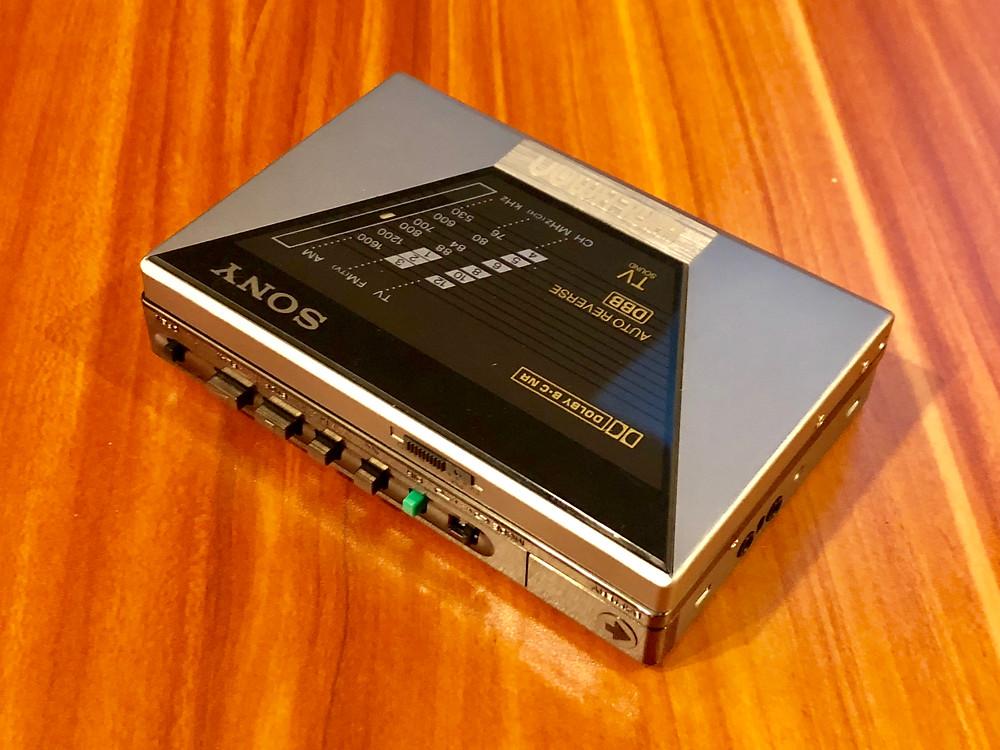 Sony Walkman WM-F550C Portable Cassette Player