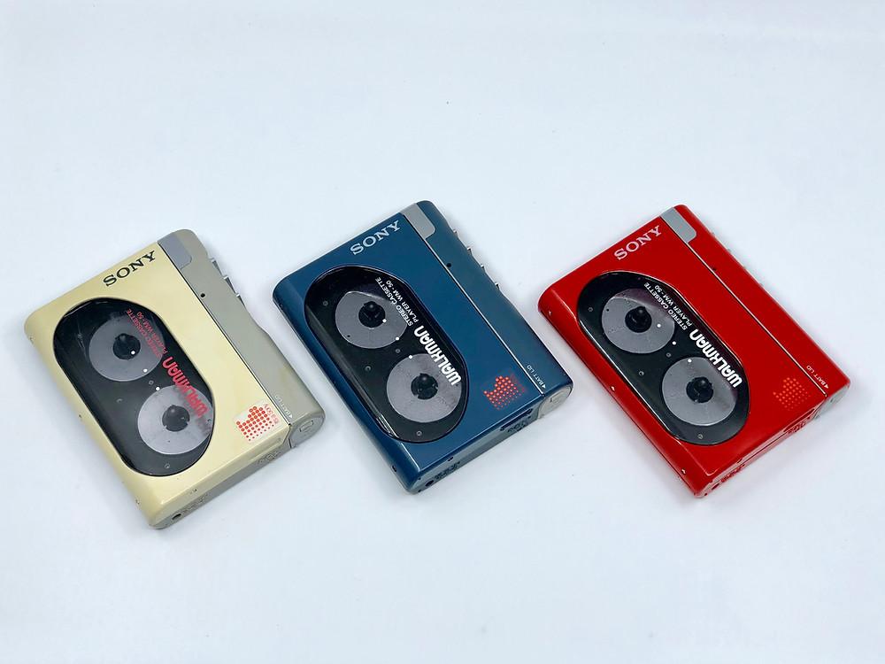 Sony Walkman WM-50 Portable Cassette Player