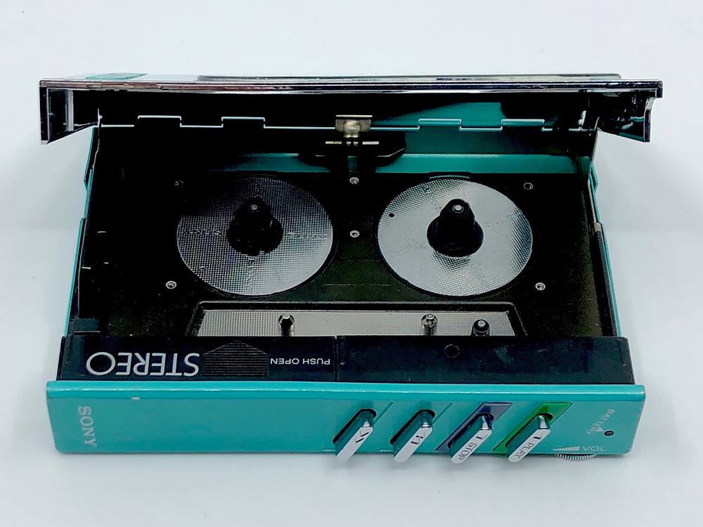 Sony Walkman WM-30 Aqua Portable Cassette Player