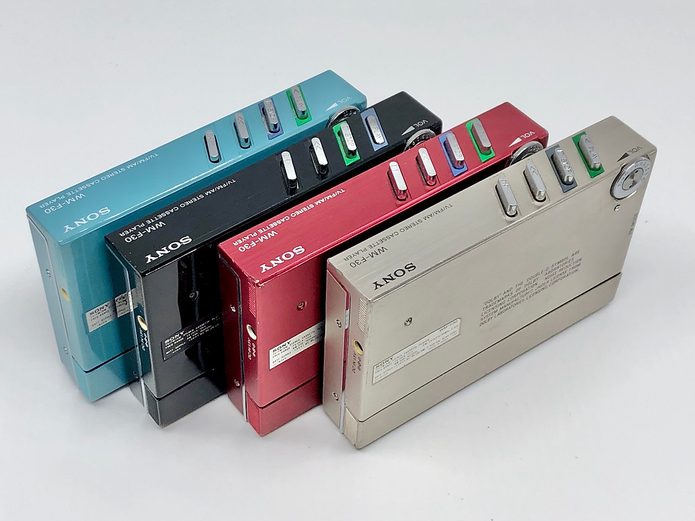 Sony Walkman WM-F30 Complete Collection