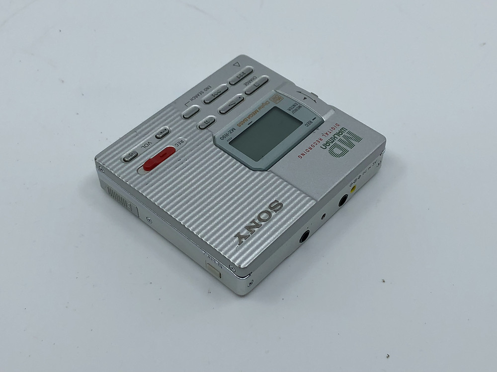 Sony MZ-R90 Silver MD Recorder