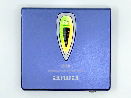 Aiwa AM-HX400 Portable MiniDisc Player