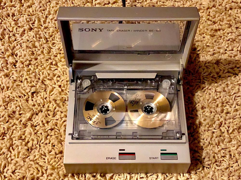 Sony BE-100 Tape Eraser / Winder