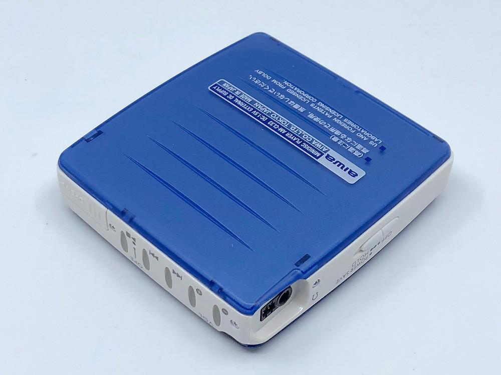 Aiwa AM-CL33 Blue MiniDisc MD Player