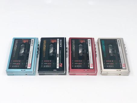 Sony Walkman WM-F30 Complete Collection