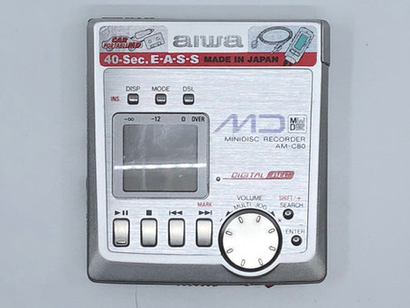 Aiwa AM-C80 MiniDisc MD Recorder
