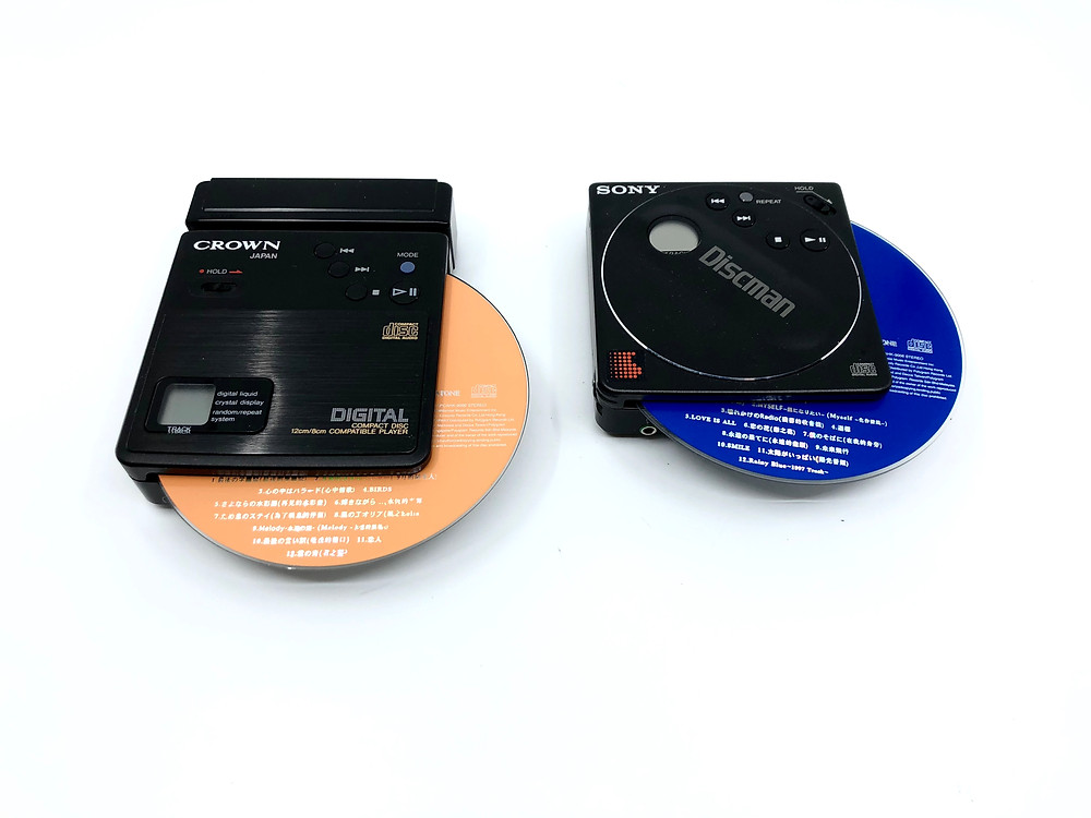 Crown CD-10 8cm Portable Mini CD Player
