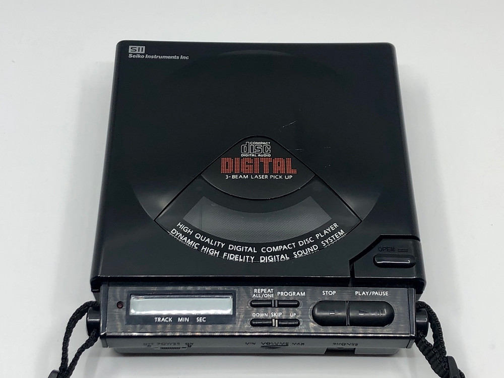Seiko PHX-50CD Portable CD Player