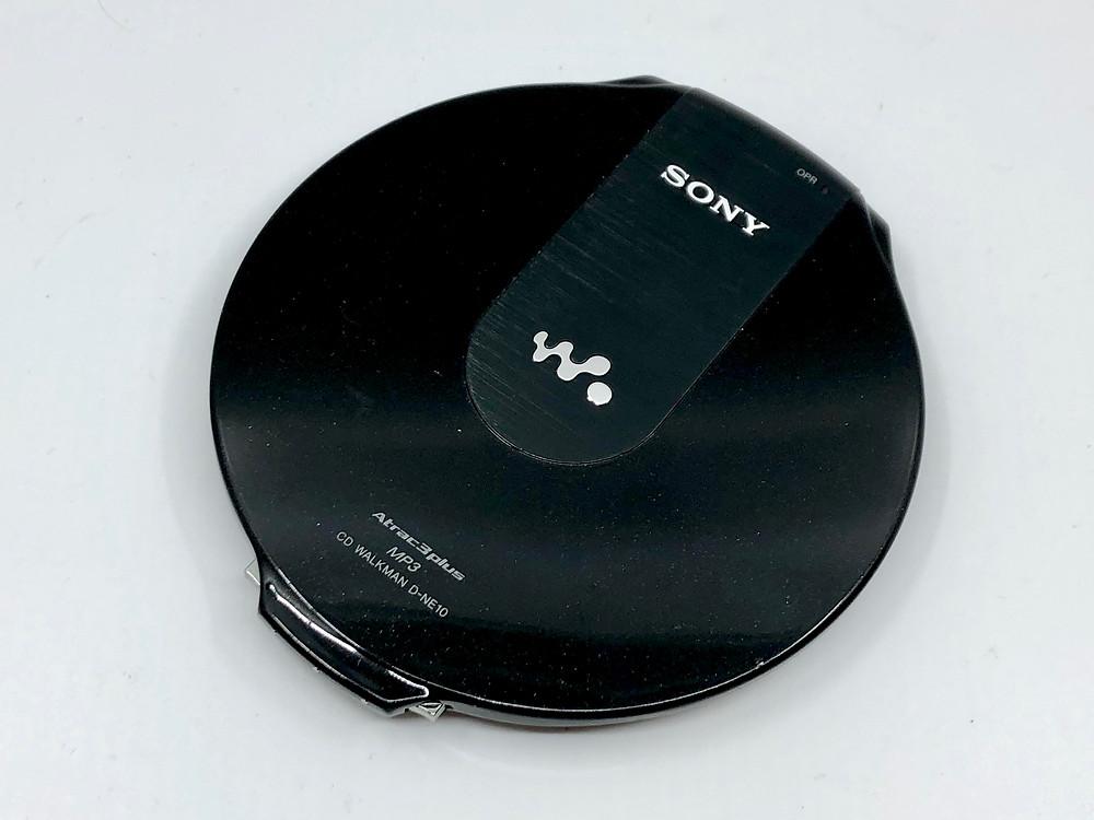 Sony CD Walkman D-NE10 Black Portable CD Player