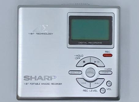 Sharp MD-DR7S 1-Bit MiniDisc Recorder Silver