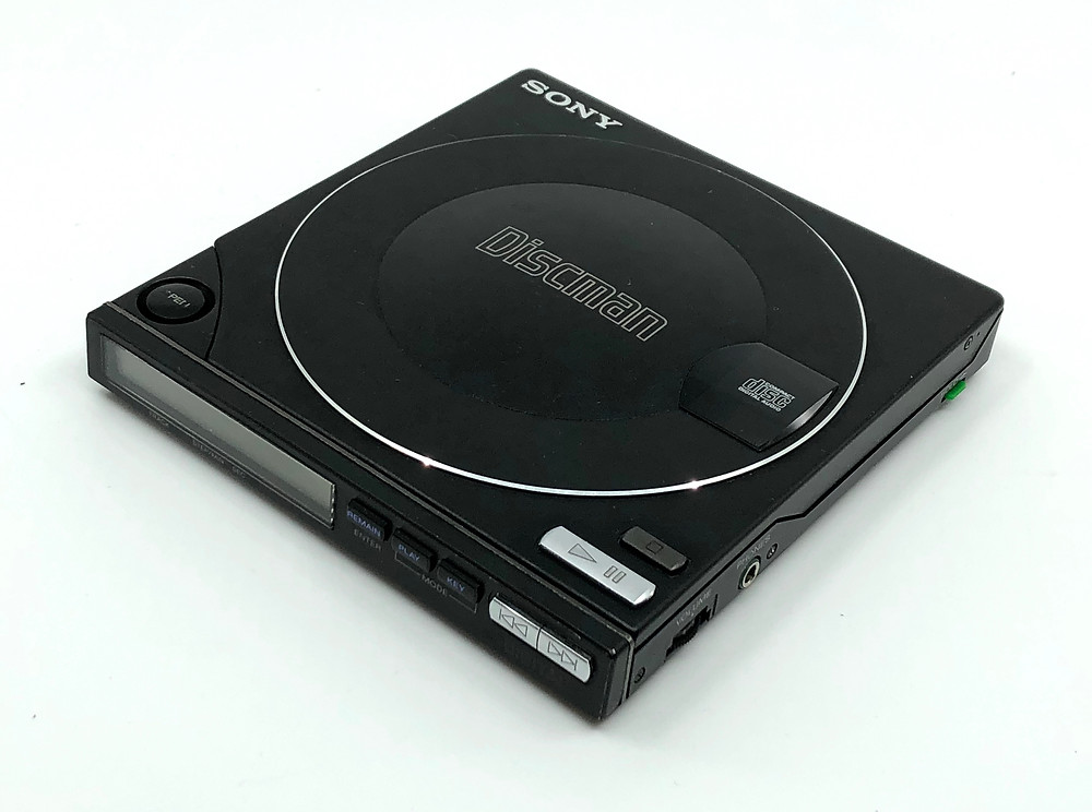 Sony Discman D-100 Black Portable CD Player