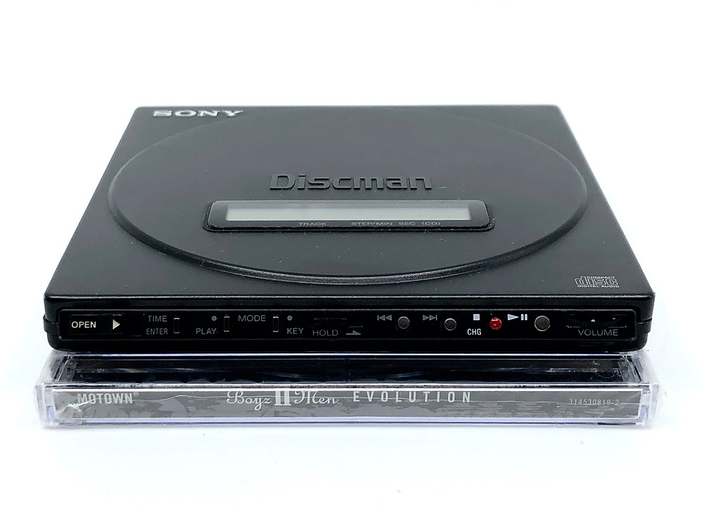 Sony Discman D-J50 Portable CD Player