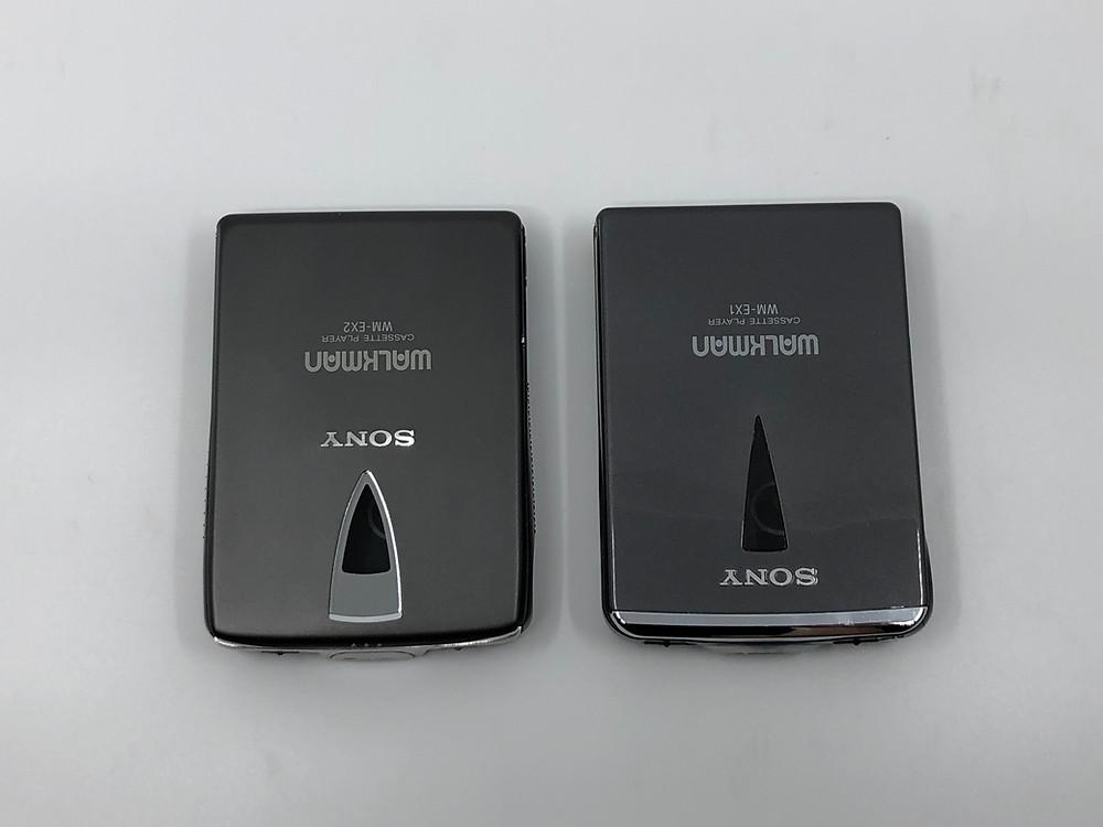 Sony Walkman WM-EX1 and WM-EX2 Portable Cassette Player