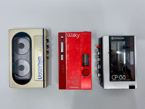 Smallest Portable Cassettes Players In the World