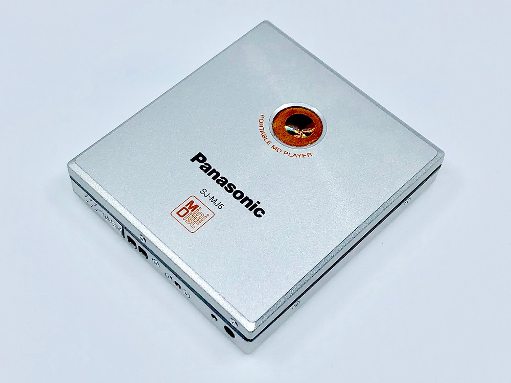 Panasonic SJ-MJ5 MiniDisc Player