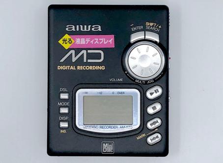 Aiwa AM-F70 Black MiniDisc Recorder