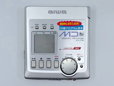 Aiwa AM-F80 MiniDisc MD Recorder
