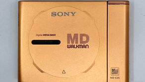 Sony MD Walkman MZ-E3 Gold Portable MiniDisc Player