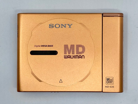 Sony MD Walkman MZ-E3 Gold Portable MiniDisc Player