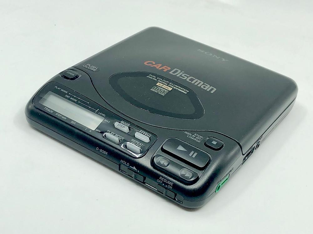 Sony Car Discman D808K Portable CD Player