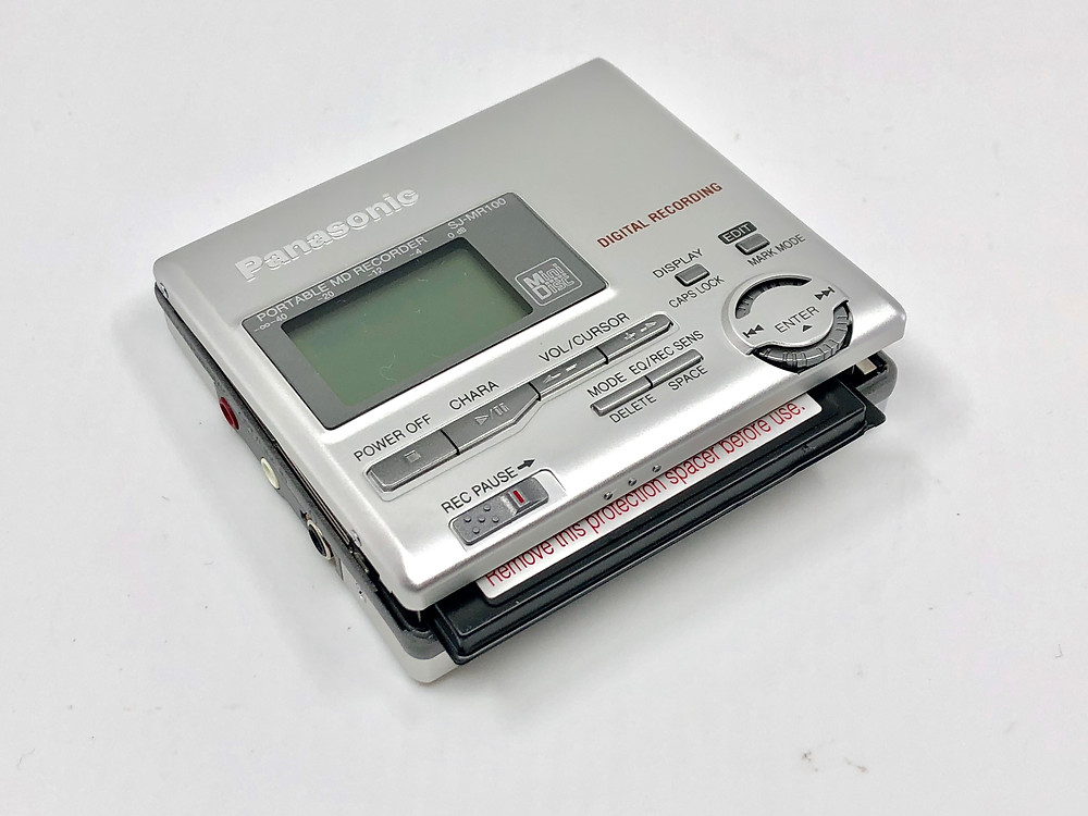 Panasonic SJ-MR100S Silver MD Recorder