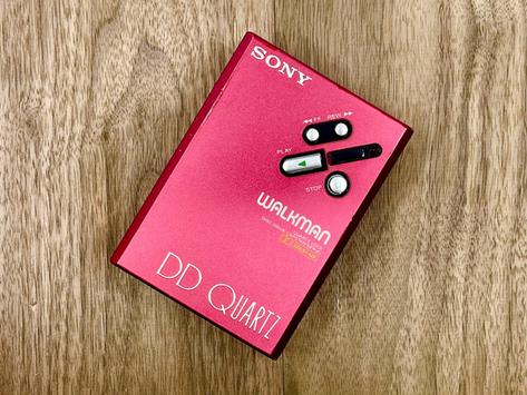 Sony Walkman WM-DDIII Red
