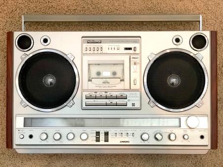 Panasonic National RX-7000 Boombox