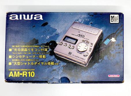 Aiwa AM-R10 MiniDisc Recorder Box Set