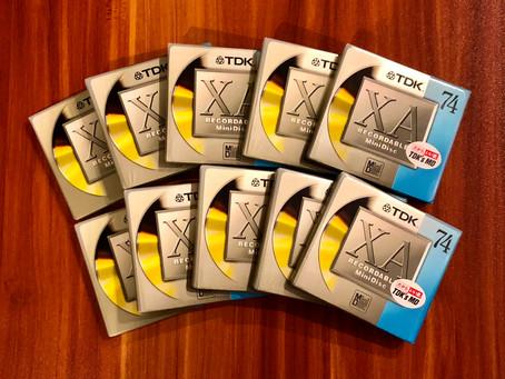 TDK MD-XA74 MiniDisc MD