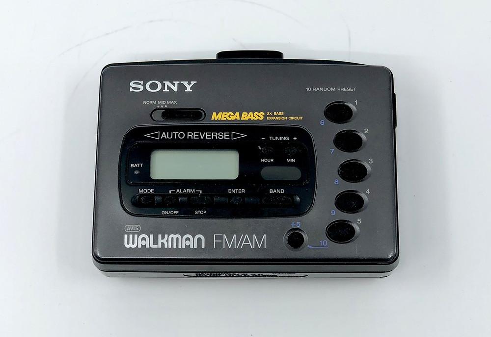 Sony Walkman WM-FX41 Portable Cassette Player with Radio