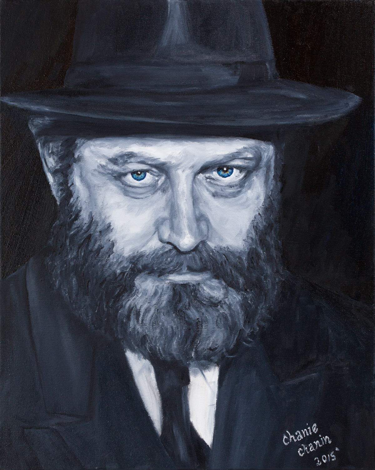 The Rebbe - Piercing eyes