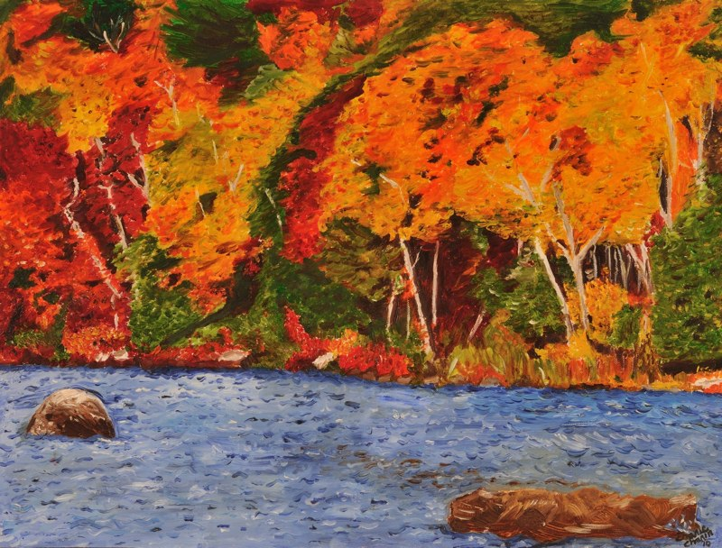 Fall at the Hudson