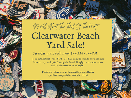 Beach-Wide Yard Sale!