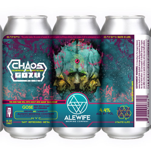 Chaos - Gose - 4.4% - 16oz cans - 4 Pack