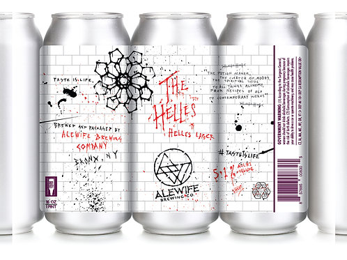 The Helles - Lager - 5.1% - 16 oz cans - 4 pack