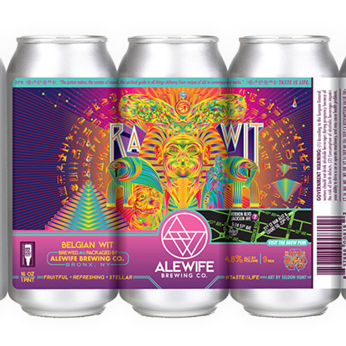 Ra Wit -  4.8% - 16 oz cans - Case
