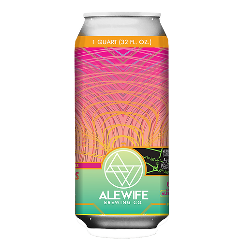 Alewife Lupulin Vibrations feat' Azacca - DIPA - 8.3% - 32oz Can