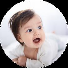 Un bébé serein
